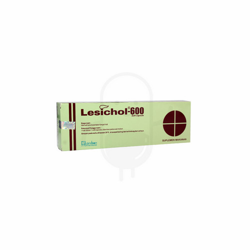 LESICHOL 600 MG BOX 30 KAPSUL