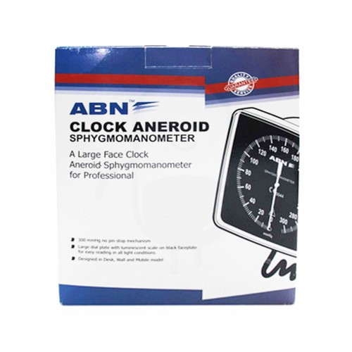 ABN TENSIMETER CLOCK ANEROID WALL