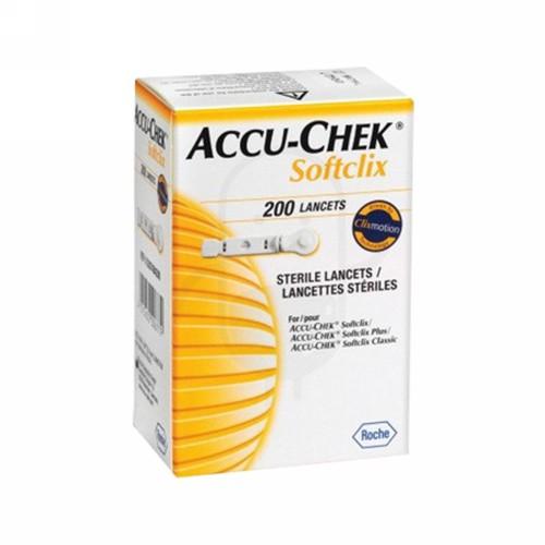 ACCU CHECKSOFTCLIX LANCETS STRIP GULA DARAH 200 PCS