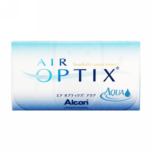 AIR OPTIX AQUA SILICONE HYDROGEL MONTHLY CLEAR LENS ( -8.00) BENING