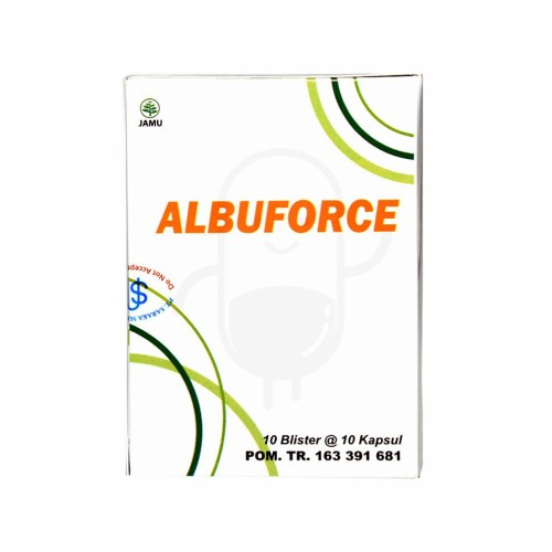 ALBUFORCE 525 MG STRIP 10 KAPSUL