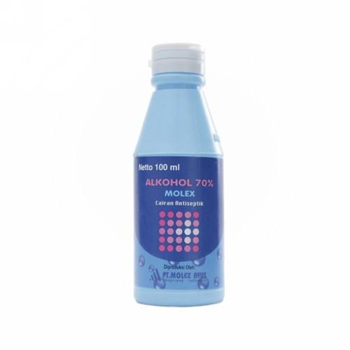 ALKOHOL 70% MOLEX AYUS 100 ML