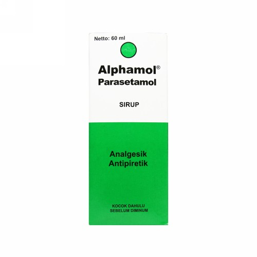 ALPHAMOL 120 MG SIRUP 60 ML