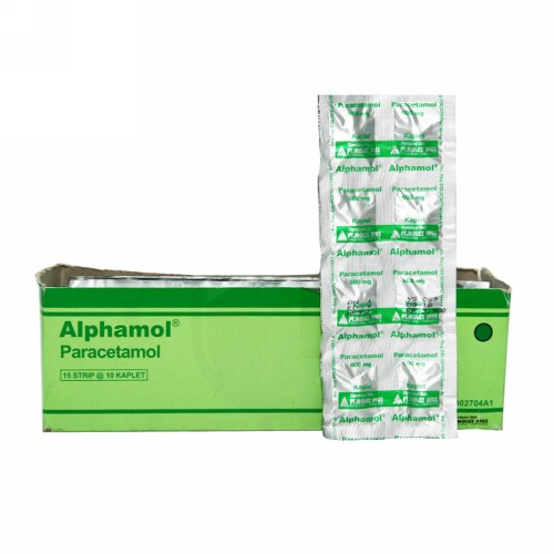 ALPHAMOL 600 MG STRIP 10 KAPLET