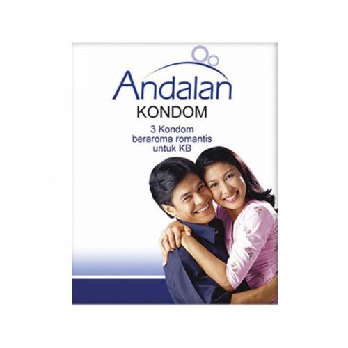 ANDALAN KONDOM BOX 3 PCS
