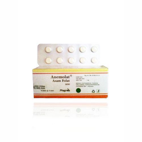 ANEMOLAT 1 MG STRIP 10 TABLET