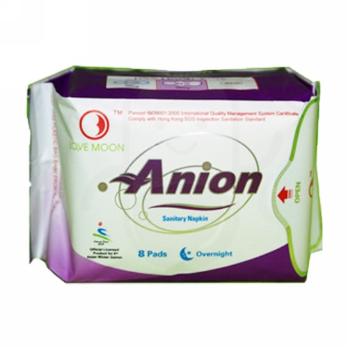 ANION OVERNIGHT ISI 8 PCS