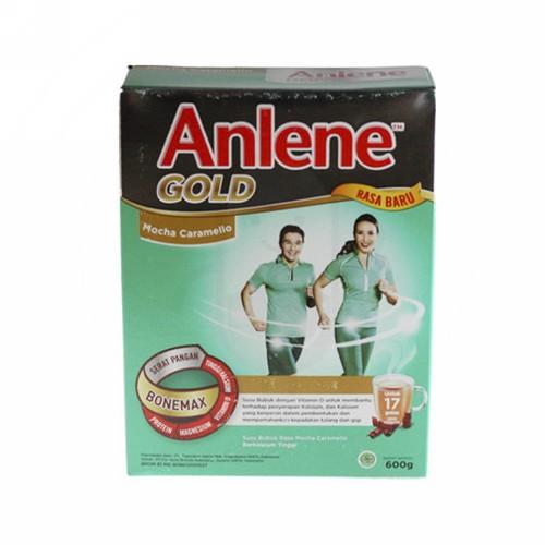ANLENE GOLD RASA MOCHA CARAMELLO USIA 51 TAHUN KEATAS 600 GRAM BOX