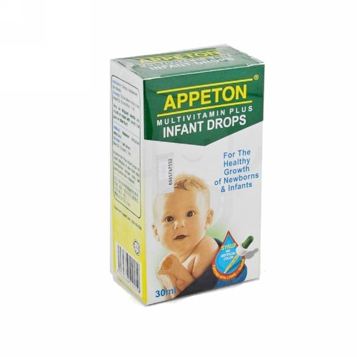 APPETON MULTIVITAMINS PLUS INFANT DROPS 30 ML
