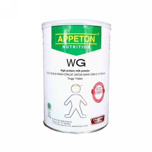 APPETON WEIGHT GAIN USIA 3-12 TAHUN RASA COKLAT 450 GRAM KALENG
