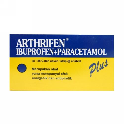 ARTHRIFEN PLUS STRIP 4 TABLET