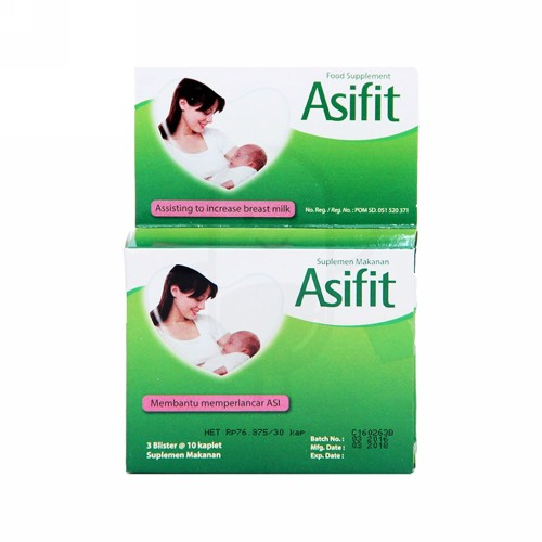 ASIFIT BOX 30 KAPLET