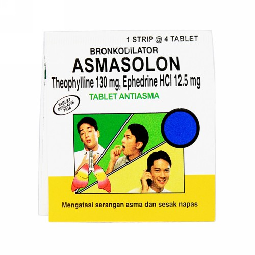 ASMASOLON STRIP 4 TABLET
