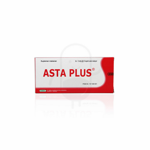 ASTA PLUS STRIP 6 KAPLET