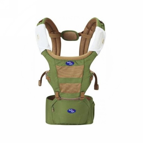 BABY SAFE CARRIER BABY HIP SEAT GREEN
