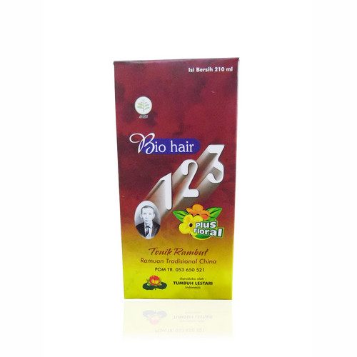 BIO HAIR PLUS FLORAL TONIK RAMBUT 210 ML BOTOL