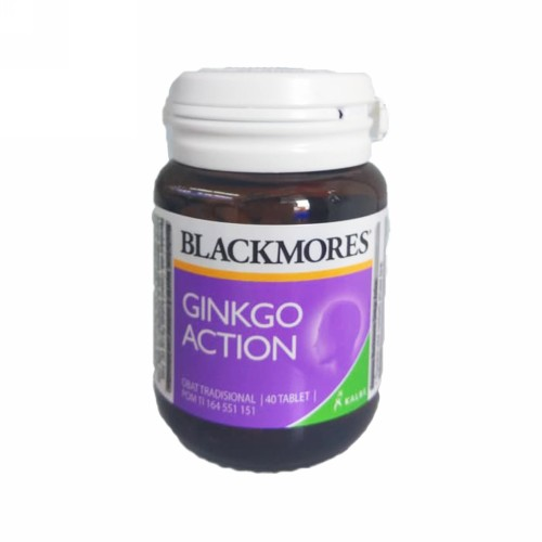 BLACKMORES GINKGO ACTION BOTOL 40 TABLET