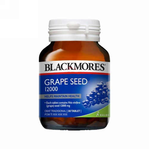 BLACKMORES GRAPE SEEDS BOTOL 30 TABLET
