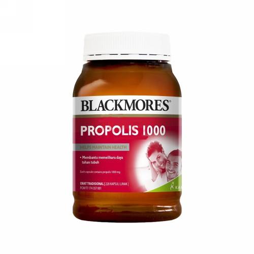 BLACKMORES PROPOLIS 1000 BOTOL 220 KAPSUL