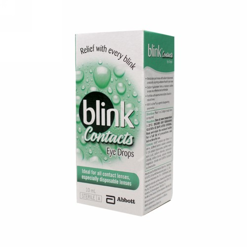 BLINK CONTACTS EYE DROPS 10 ML