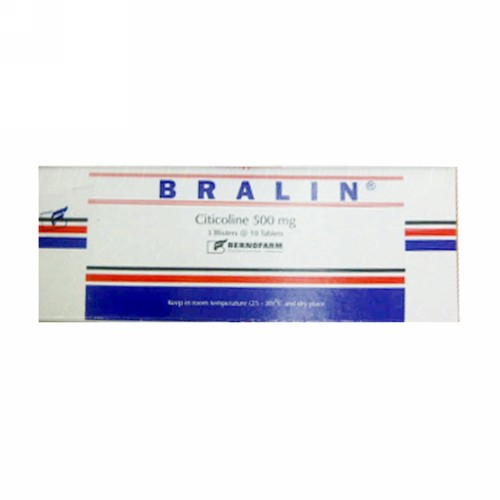 BRALIN 500 MG BOX 30 TABLET