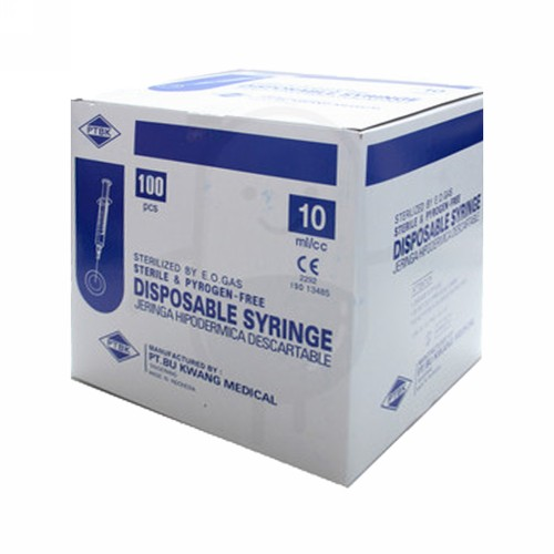 BU KWANG SYRINGE 10 ML BOX
