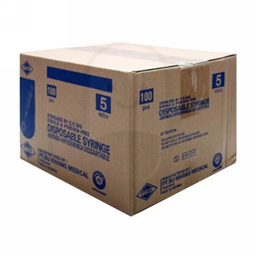 BU KWANG SYRINGE 5 ML BOX