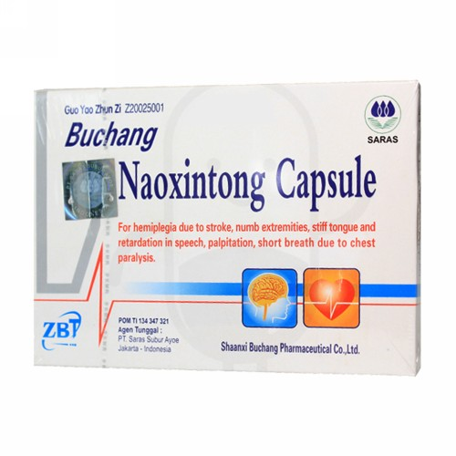 BUCHANG NAOXINTONG CAPSULE BOX 2 STRIP