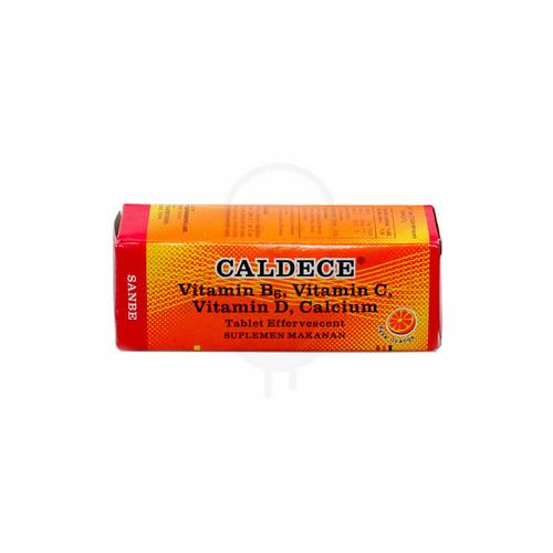 CALDECE ORANGE TUBE 10 TABLET EFFERVESCENT