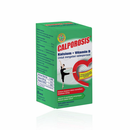 CALPOROSIS D 800 MG BOX 30 TABLET
