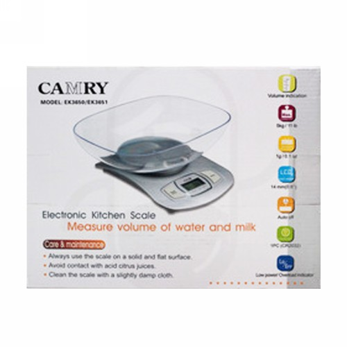 CAMRY KITCHEN SCALE DIGITAL EK 3650 5 KG