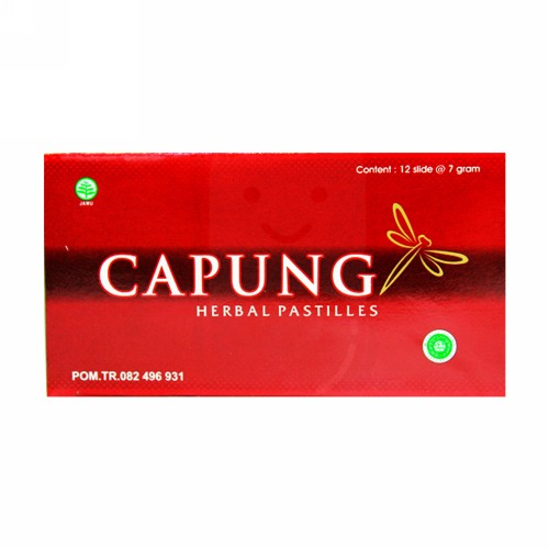 CAPUNG HERBAL PASTILES 7 GRAM SLIDE