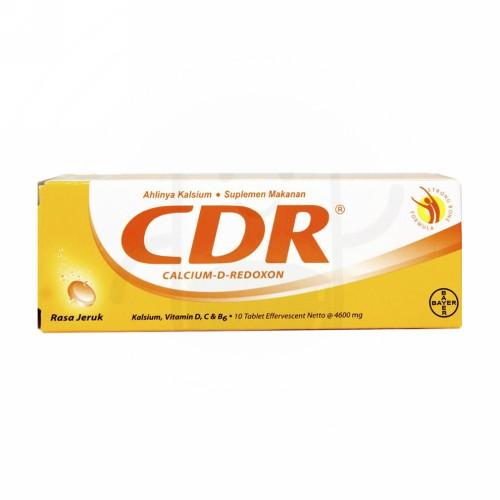 CDR RASA FRUIT PUNCH TUBE 10 TABLET EFFERVESCENT