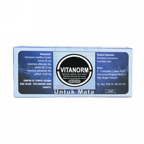 CENDO VITANORM BOX 30 TABLET