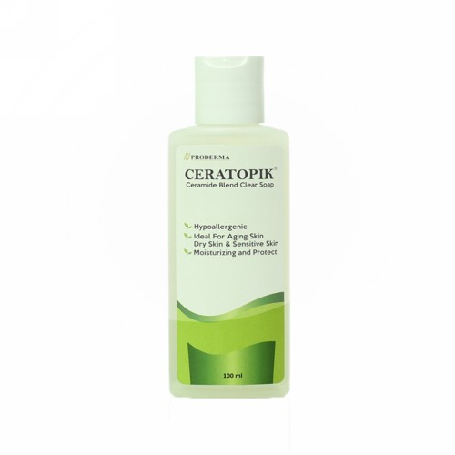 CERATOPIK CERAMIDE BLEND CLEAR SOAP LIQUID 100 ML