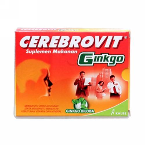 CEREBROVIT X CELL BOX 100 KAPSUL