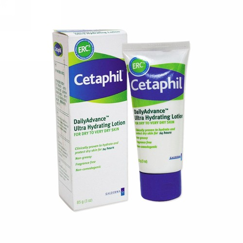CETAPHIL DAILY ADVANCE ULTRA HYDRATING LOTION 85 GRAM TUBE