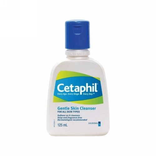 CETAPHIL GENTLE SKIN CLEANSER 125 ML BOTOL