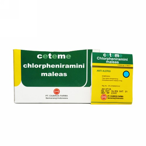 CETEME CITO 4 MG TABLET BOX