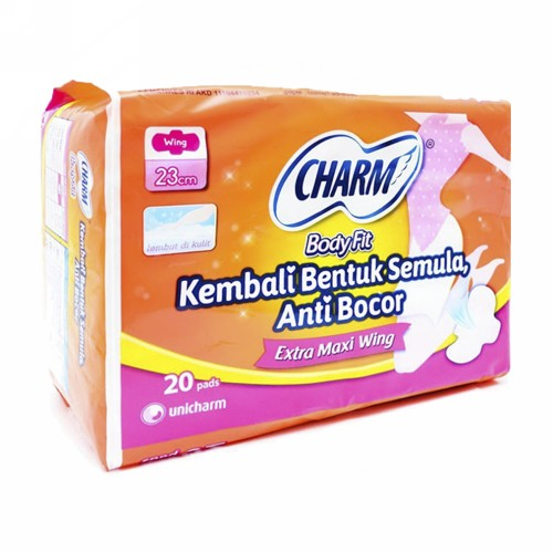 CHARM BODY FIT MAXI NON WING ISI 20 PCS
