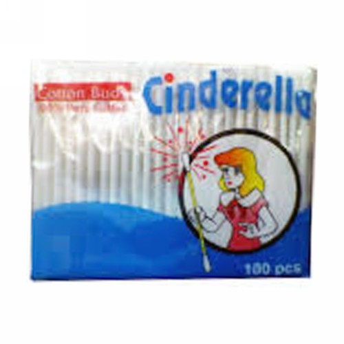 CINDERELLA COTTON BUDS 100 PCS