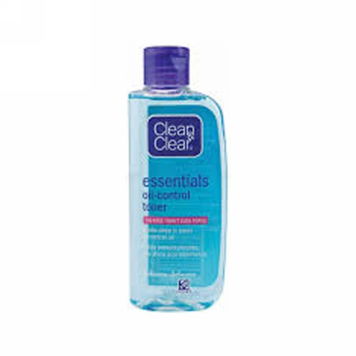 CLEAN & CLEAR ESSENTIALS OIL CONTROL TONER 100 ML BOTOL
