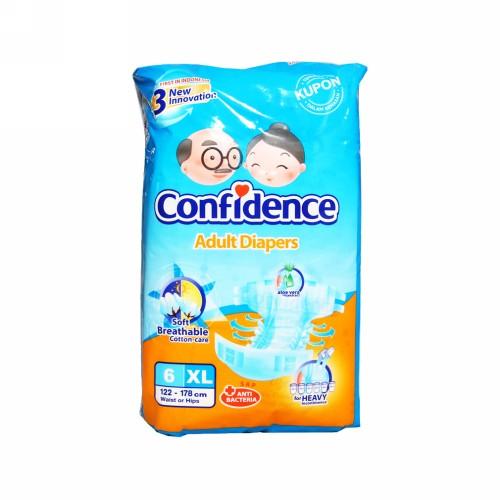 CONFIDENCE ADULT DIAPERS CLASSIC UKURAN XL 6