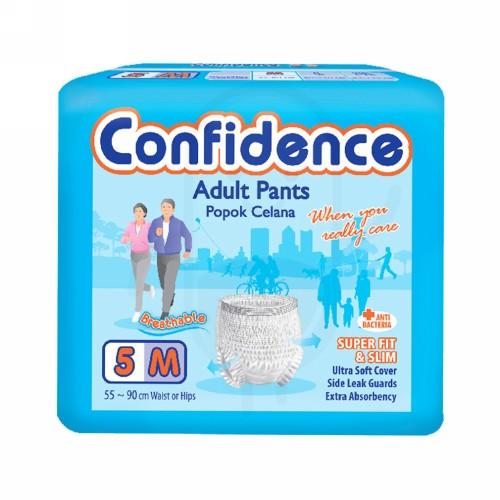 CONFIDENCE ADULT POPOK CELANA UKURAN M 5
