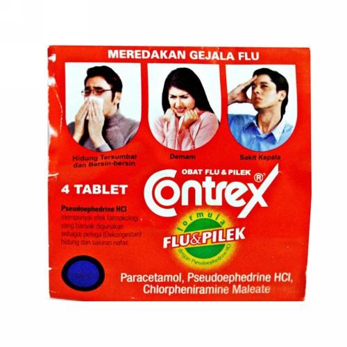 CONTREX FLU DAN PILEK STRIP 4 TABLET