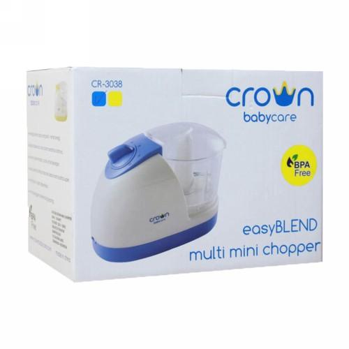 CROWN MULTI MINI CHOPPER EASY BLEND CR-3038 BLUE