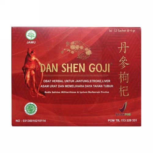DAN SHEN GOJI 7 GRAM BOX 12 SACHET