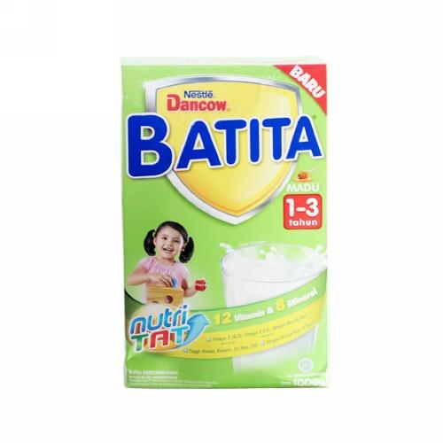 DANCOW BATITA USIA 1-3 TAHUN RASA MADU 1000 GRAM BOX