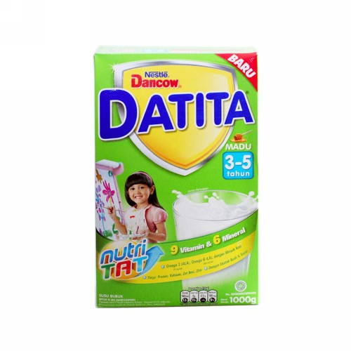 DANCOW DATITA USIA 3-5 TAHUN RASA MADU 1000 GRAM BOX