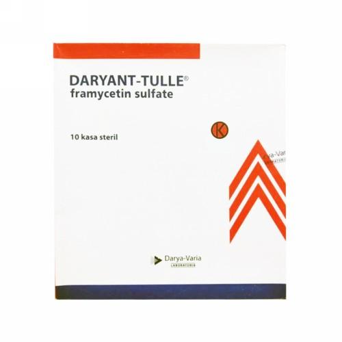 DARYANT-TULLE KASSA STERIL 10 X 10 CM BOX 10 PCS
